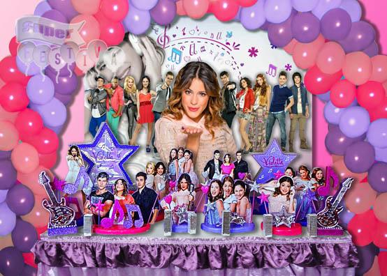 decoracao festa violetta:Super Festiva Bomboniere e Festas – Violetta